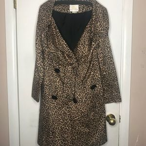 Sara Berman | Leopard trench coat